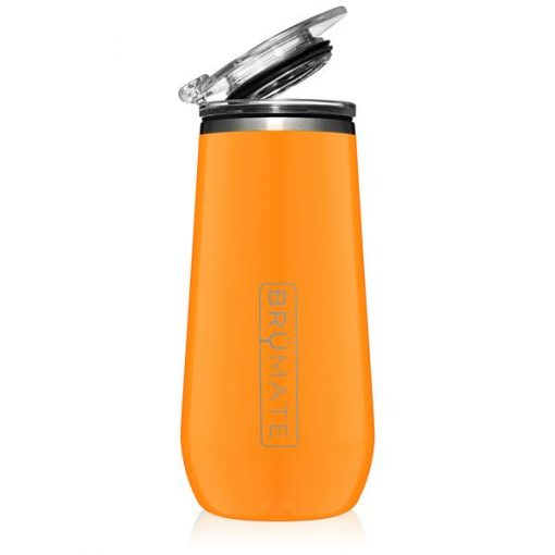 Champagne Flute Hunter orange