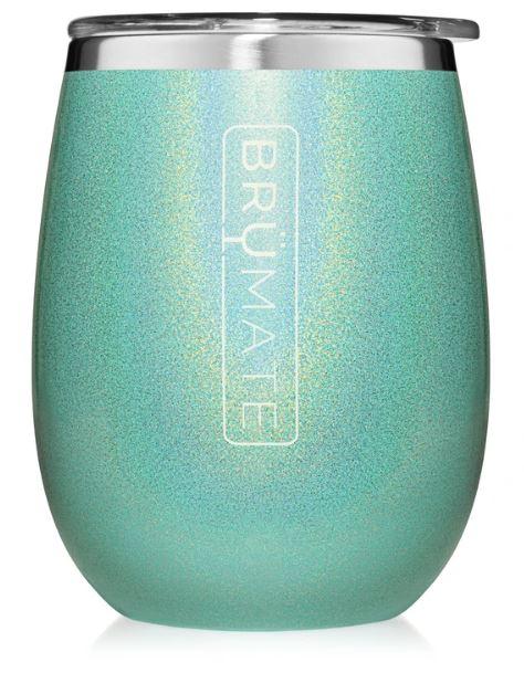 Uncorked Glitter aqua