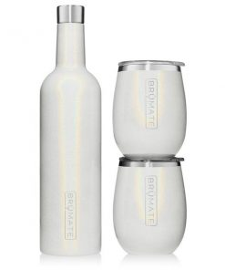 Winesulator Set Glitter White