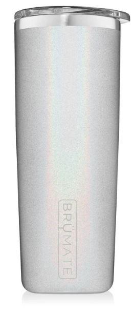 BRUMATE HIGHBALL 355ML – GLITTER WHITE