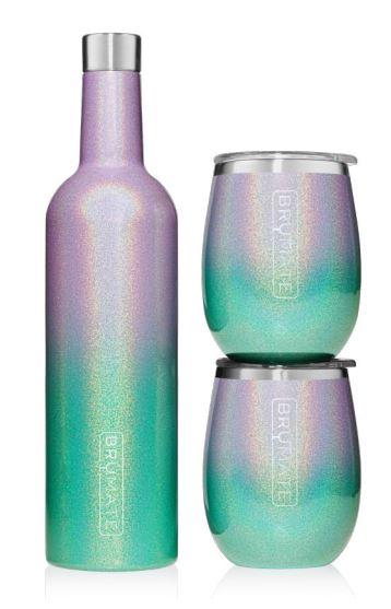 Winesulator Set Glitter Mermaid